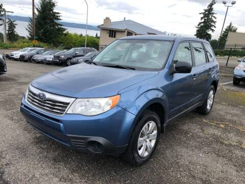2009 Subaru Forester for sale at KARMA AUTO SALES in Federal Way WA