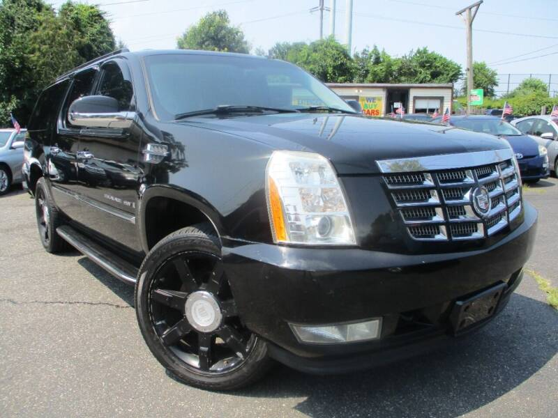 2007 Cadillac Escalade ESV for sale at Unlimited Auto Sales Inc. in Mount Sinai NY