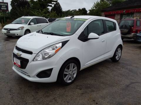 2013 Chevrolet Spark for sale at Fraziers Sturtevant Motors in Sturtevant WI