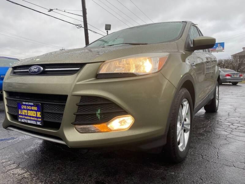 2014 Ford Escape for sale at A-1 Auto Broker Inc. in San Antonio TX