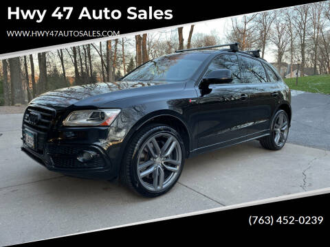 2015 Audi SQ5 for sale at Hwy 47 Auto Sales in Saint Francis MN