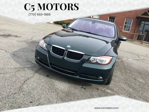2006 BMW 3 Series for sale at C5 Motors in Marietta GA