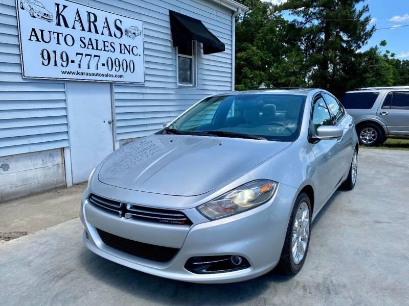 2013 Dodge Dart for sale at Karas Auto Sales Inc. in Sanford NC