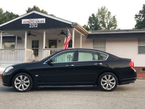 2007 Infiniti M35 for sale at CVC AUTO SALES in Durham NC
