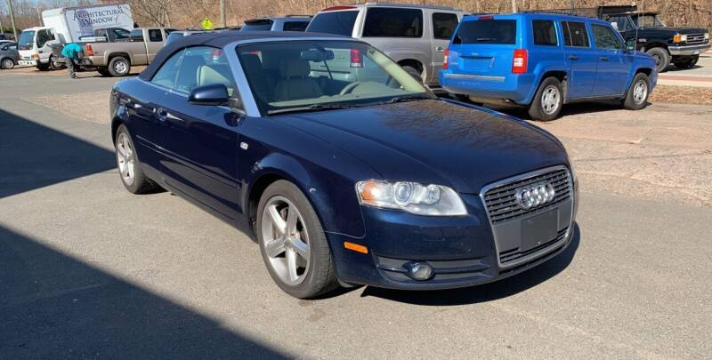 2007 Audi A4 for sale at Manchester Auto Sales in Manchester CT
