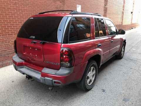 2003 Chevrolet TrailBlazer for sale at QUALITY AUTO SALES INC in Chicago IL