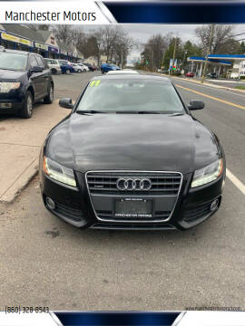 2011 Audi A5 for sale at Manchester Motors in Manchester CT