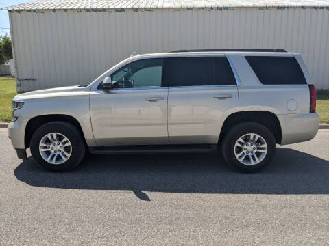2017 Chevrolet Tahoe for sale at TNK Autos in Inman KS