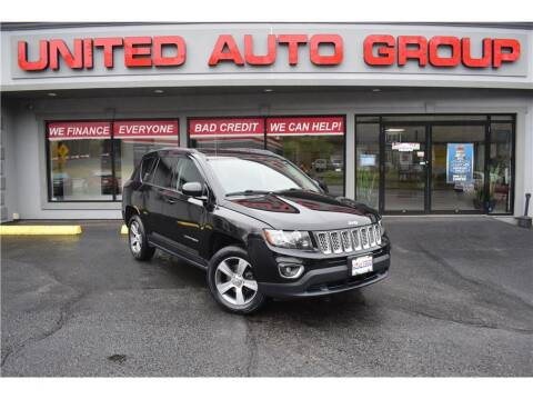 2016 Jeep Compass for sale at United Auto Group in Putnam CT