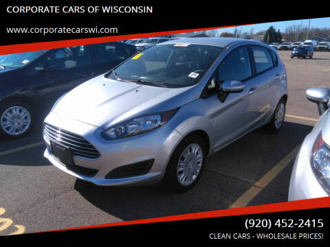 2016 Ford Fiesta for sale at CORPORATE CARS OF WISCONSIN in Sheboygan WI