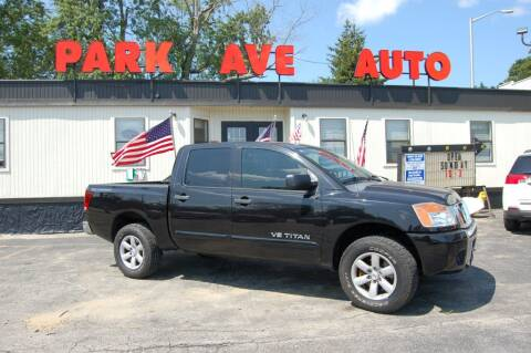 2012 Nissan Titan for sale at Park Ave Auto Inc. in Worcester MA