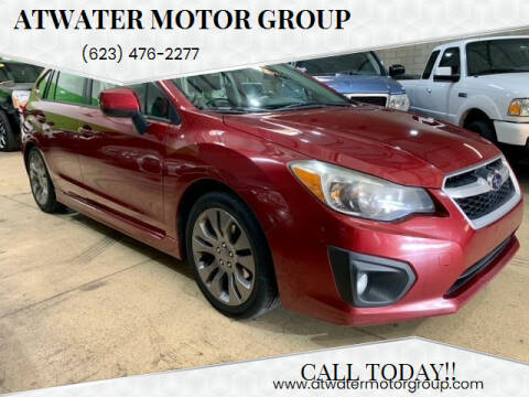 2013 Subaru Impreza for sale at Atwater Motor Group in Phoenix AZ
