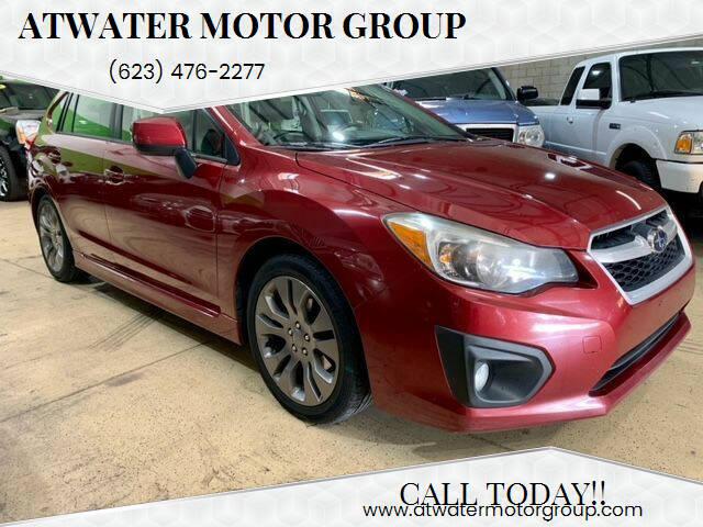 2013 Subaru Impreza for sale at Atwater Motor Group in Phoenix AZ