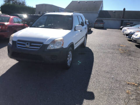 2006 Honda CR-V for sale at 25TH STREET AUTO SALES in Easton PA