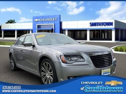 2014 Chrysler 300 for sale at CHEVROLET OF SMITHTOWN in Saint James NY