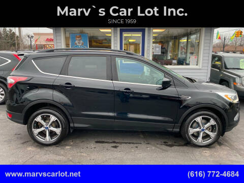 2017 Ford Escape for sale at Marv`s Car Lot Inc. in Zeeland MI
