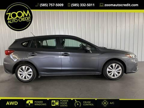 2019 Subaru Impreza for sale at ZoomAutoCredit.com in Elba NY