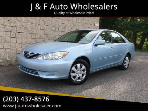 2006 Toyota Camry for sale at J & F Auto Wholesalers in Waterbury CT