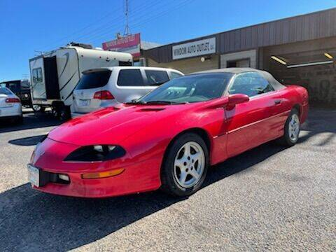 1997 Chevrolet Camaro for sale at WINDOM AUTO OUTLET LLC in Windom MN