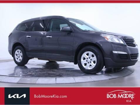 2014 Chevrolet Traverse for sale at Bob Moore Kia in Oklahoma City OK