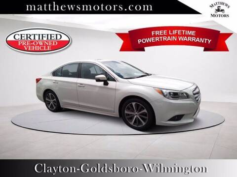2017 Subaru Legacy for sale at Auto Finance of Raleigh in Raleigh NC