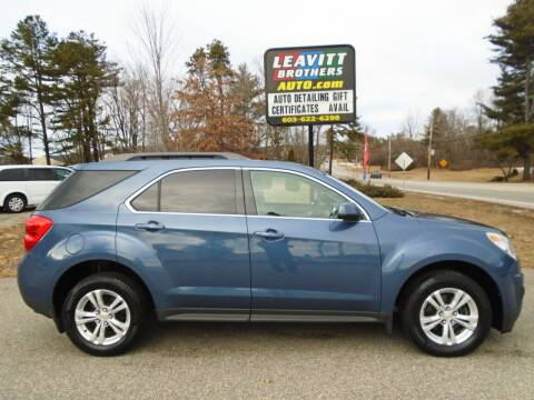 2015 Chevrolet Equinox for sale at Leavitt Brothers Auto in Hooksett NH