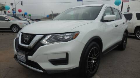 2017 Nissan Rogue for sale at Luxor Motors Inc in Pacoima CA