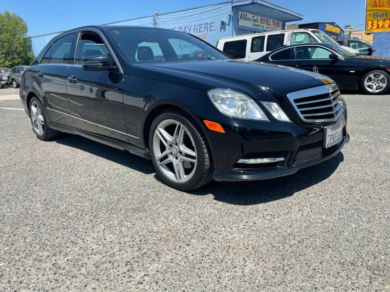 2013 Mercedes-Benz E-Class for sale at All Cars & Trucks in North Highlands CA