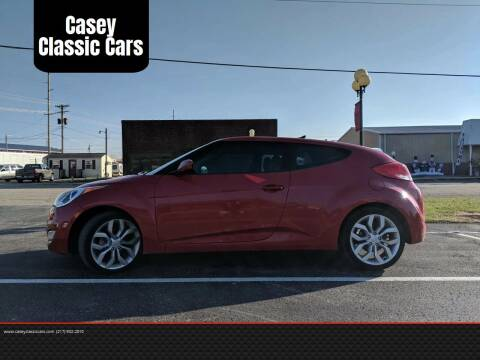 2013 Hyundai Veloster for sale at Casey Classic Cars in Casey IL