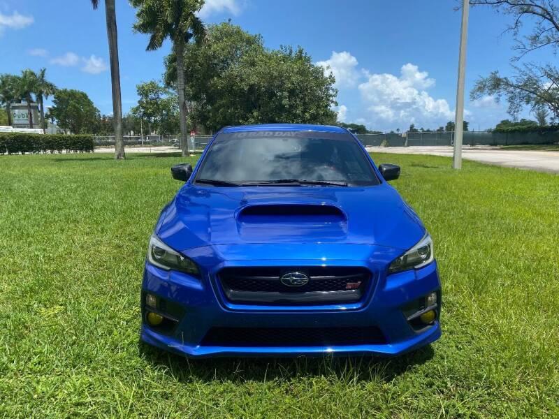2017 Subaru WRX for sale at Nation Autos Miami in Hialeah FL