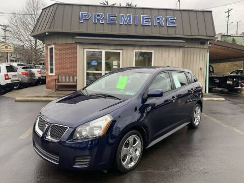 2010 Pontiac Vibe for sale at Premiere Auto Sales in Washington PA