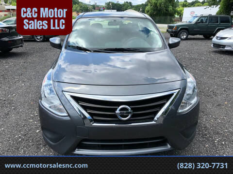 2018 Nissan Versa for sale at C&C Motor Sales LLC in Hudson NC