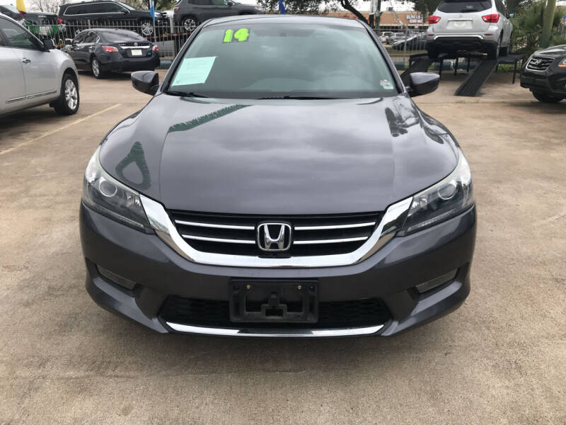 2014 Honda Accord for sale at SOUTHWAY MOTORS in Houston TX
