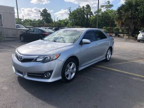 2014 Toyota Camry for sale at Saipan Auto Sales in Houston TX