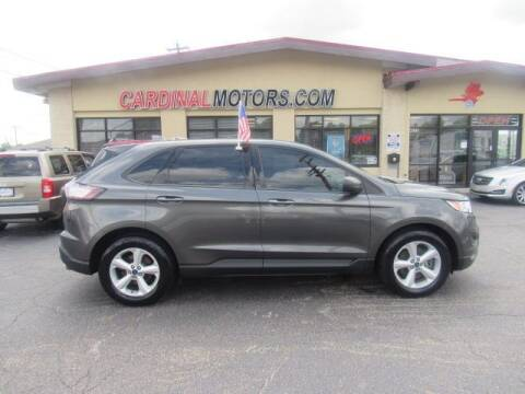 2016 Ford Edge for sale at Cardinal Motors in Fairfield OH