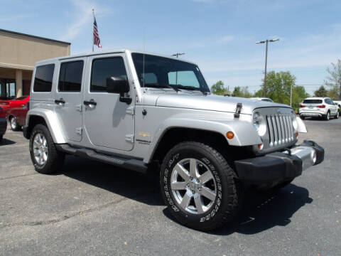 2012 Jeep Wrangler Unlimited for sale at TAPP MOTORS INC in Owensboro KY