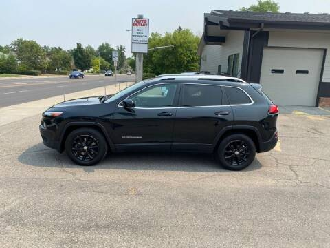 2015 Jeep Cherokee for sale at Auto Outlet in Billings MT