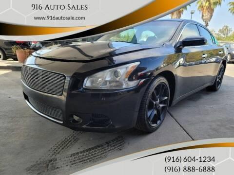 2013 Nissan Maxima for sale at 916 Auto Sales in Sacramento CA