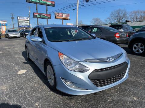 2013 Hyundai Sonata Hybrid for sale at Boardman Auto Mall in Boardman OH