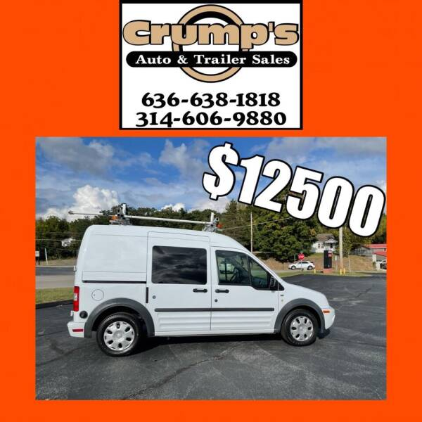 2010 Ford Transit Connect for sale at CRUMP'S AUTO & TRAILER SALES in Crystal City MO