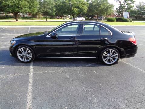 2018 Mercedes-Benz C-Class for sale at BALKCUM AUTO INC in Wilmington NC