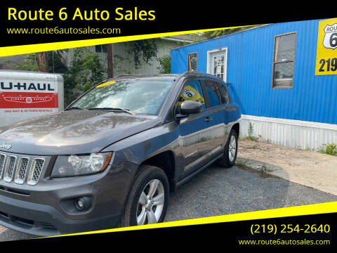 2014 Jeep Compass for sale at Route 6 Auto Sales in Portage IN