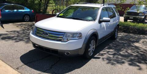 2008 Ford Taurus X for sale at Barga Motors in Tewksbury MA
