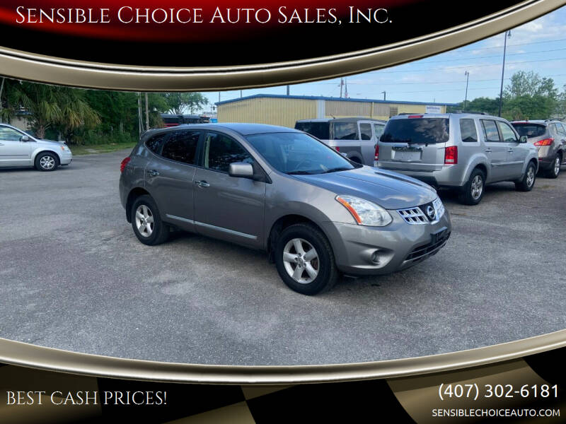 2013 Nissan Rogue for sale at Sensible Choice Auto Sales, Inc. in Longwood FL