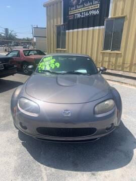 2007 Mazda MX-5 Miata for sale at J D USED AUTO SALES INC in Doraville GA