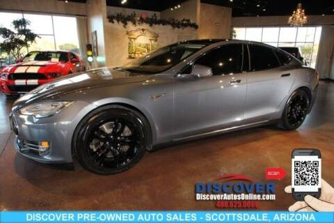 2014 Tesla Model S for sale at Discover Pre-Owned Auto Sales in Scottsdale AZ