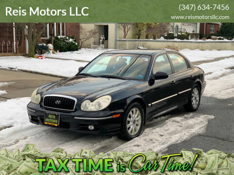 2004 Hyundai Sonata for sale at Reis Motors LLC in Lawrence NY