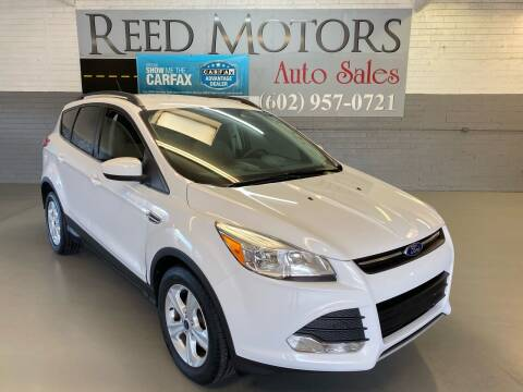 2014 Ford Escape for sale at REED MOTORS LLC in Phoenix AZ