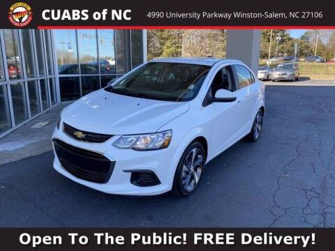 2020 Chevrolet Sonic for sale at Credit Union Auto Buying Service in Winston Salem NC