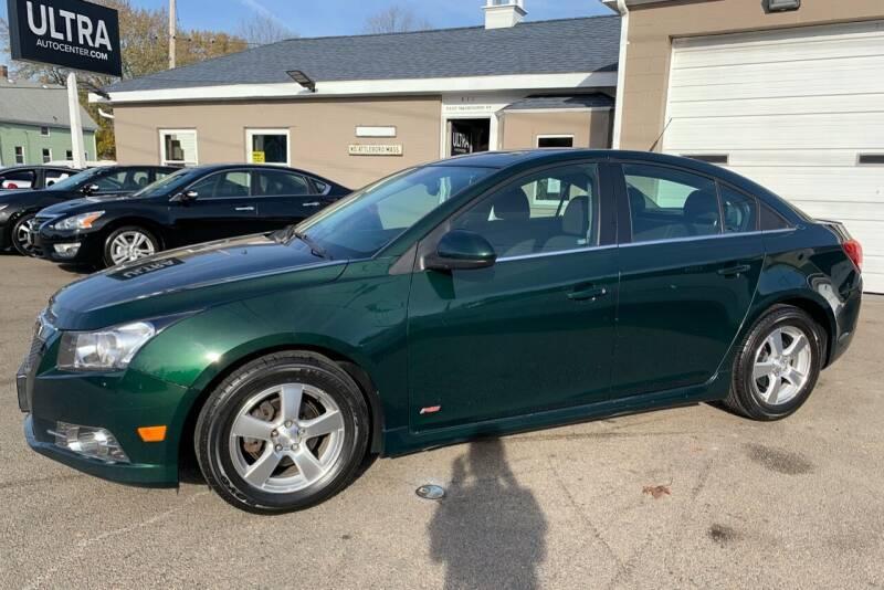 2014 Chevrolet Cruze for sale at Ultra Auto Center in North Attleboro MA
